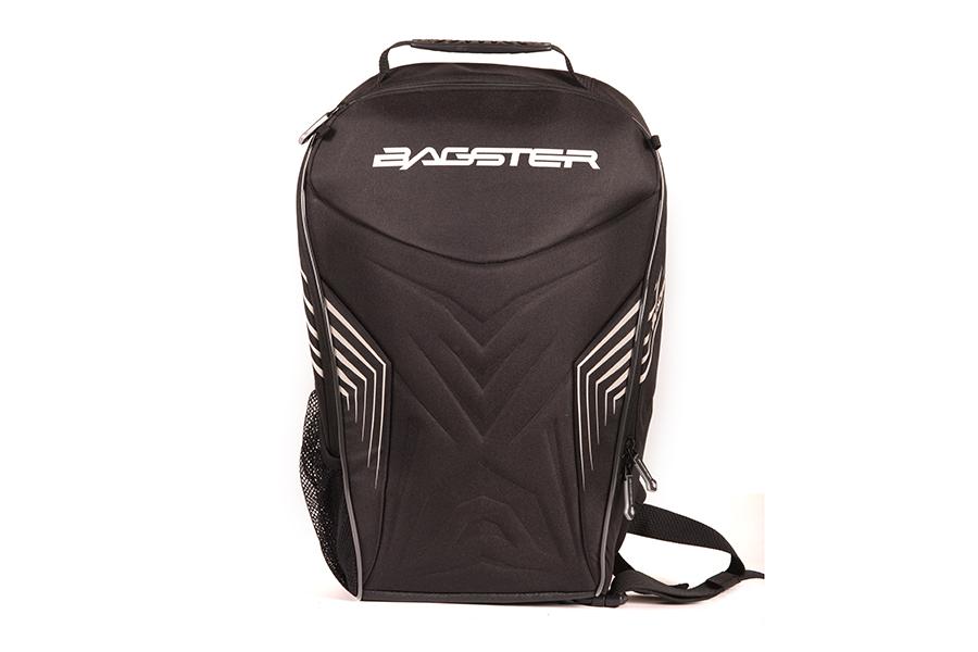 外殻全面にソフトEVAファームを使用したセミハードタイプの仕様。「BAGSTER」のロゴの部分は、リフレクター仕様です。