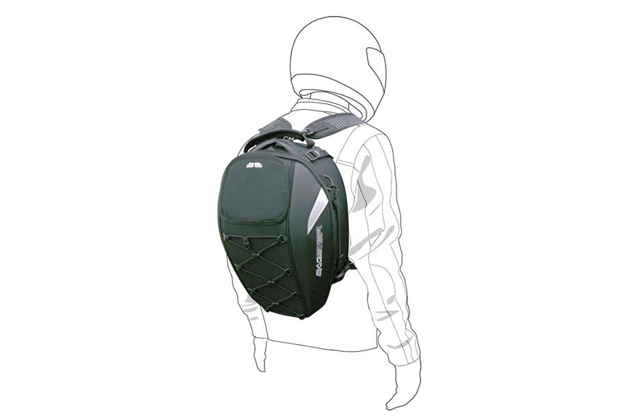 付属品のショルダーベルトを使用する事で、降車後にはリュックサックとしてもご使用いただけます。