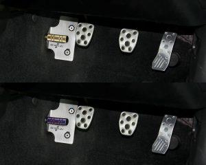 トヨタ86/スバルBRZ(MT車)用フットレストバーNEOへの装着イメージ