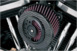 XL1200X FORTYEIGHT パフォーマンスアイテム バンス&ハインズ SLANT CARBON AIR INTAKE